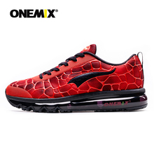 купить ONEMIX Running Shoes For Men Breathable Outdoor Sport Sneakers Lightweight Athletic Jogging Walking Shoes Size 39-47 Sneakers дешево