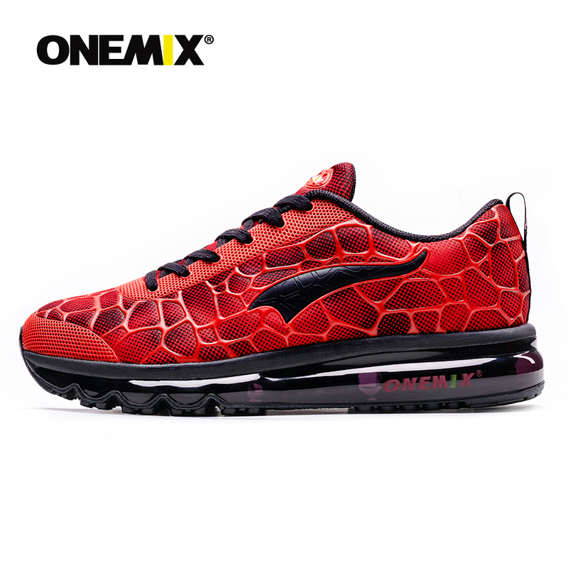 Onemix chaussures de course pour hommes respirant Sport de plein air baskets léger athlétique Jogging chaussures de marche taille 39-47 baskets
