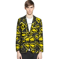 African fashion men's blazers Ankara print African blazer casual man suit jacket africa outfits customized for party/wedding
