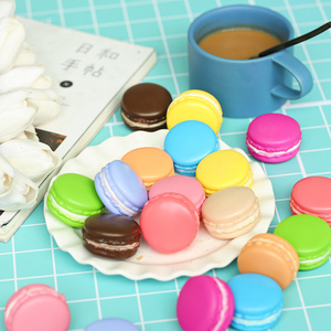 Image 3 - Multiple Colors Macarons Simulated Baking Artificial Bread ins Photography Props DIY Decoration Photo Taking Picture Accessories