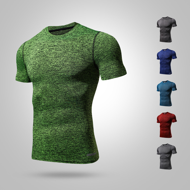 2019 Mens Cycling Base Layers Short Sleeve Compression Tights Bicycle Jersey Running Shirt Summer Bike Clothes Sports Underwear