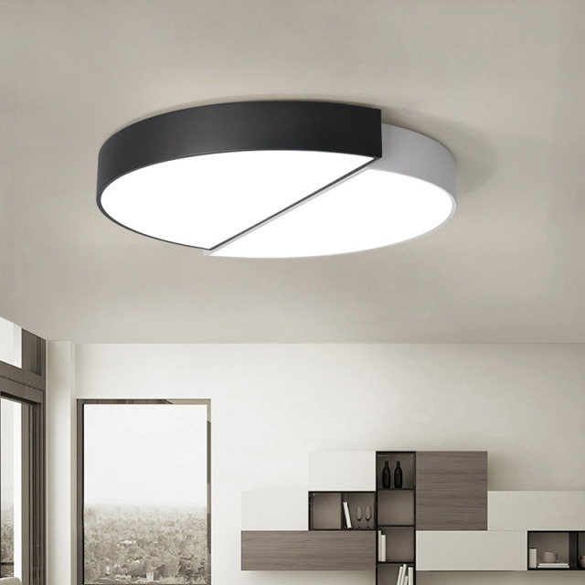 US $66.0 |Round led ceiling light modern bedroom ceiling lamps surface  mounted ceiling lighting for living room -in Ceiling Lights from Lights &  ...