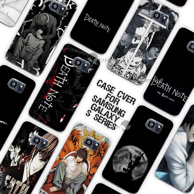 Death Note Clear Case for Samsung