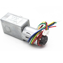 цена на JGY370 self-locking force, worm gear DC slowdown motor, encoder gear motor, low-speed machine 12V24V