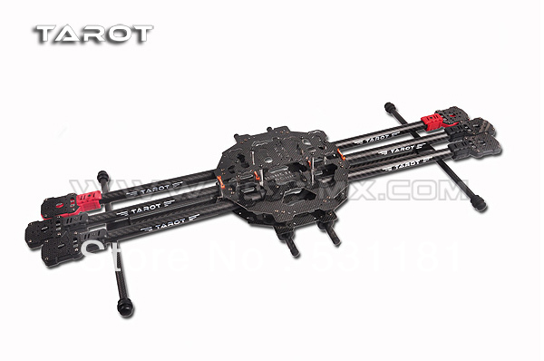 Tarot FY690S whole folding six-axis Aircraft  frame TL68C01 tarot fy680 whole folding style six axis aircraft racks [pure carbon tube version] tl68b01