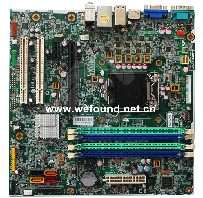 Desktop Motherboard For IS6XM System Board Fully Tested desktop motherboard for cn 0j32fg j32fg 0j32fg 9010 7010 q77 lga1155 system board fully tested