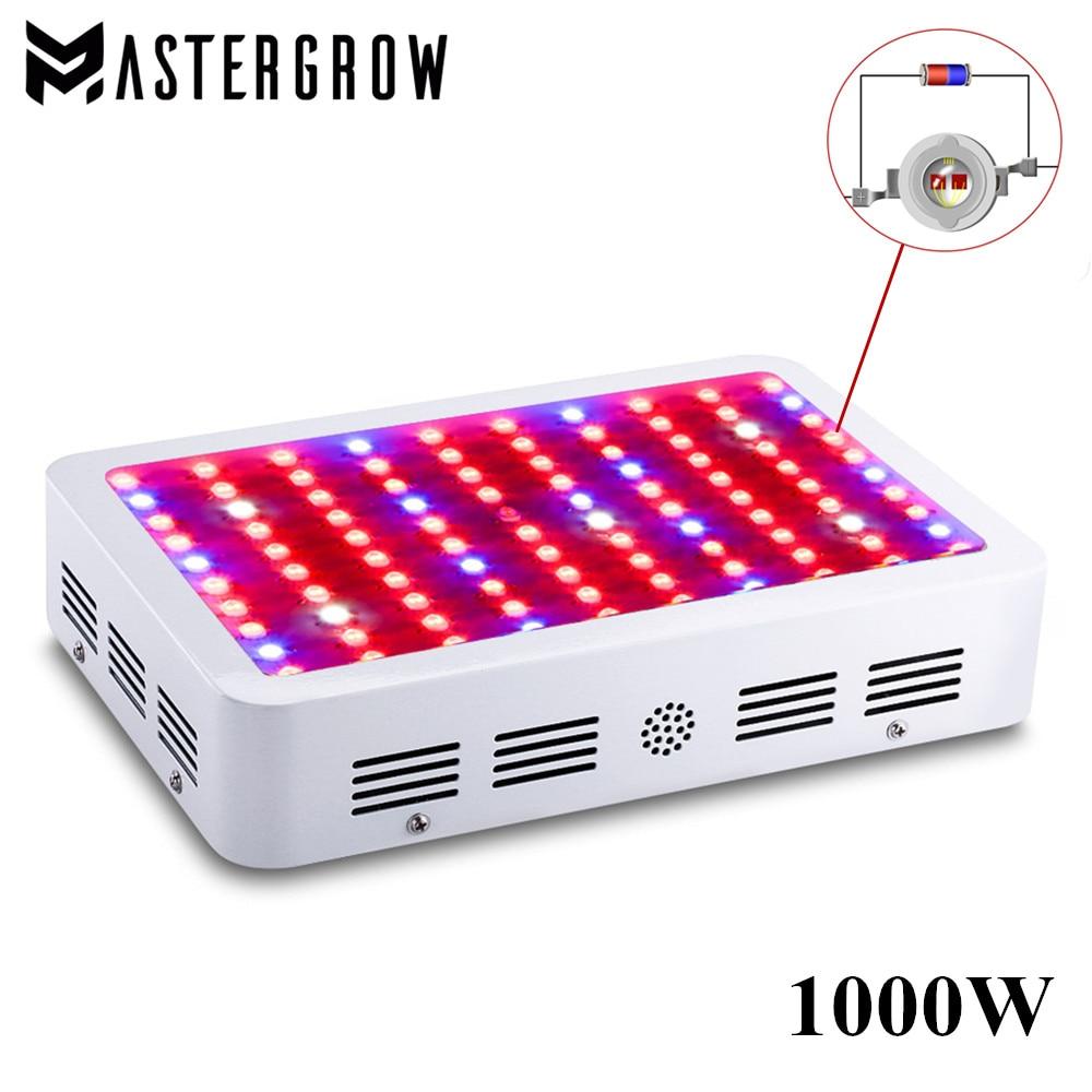 DIAMOND II 1000W Double Chips LED Grow Light Full Spectrum 410 730nm Red Blue White UV