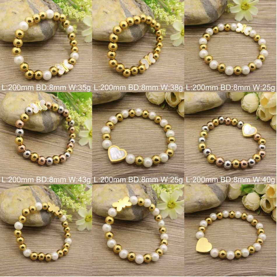 Hot Selling Wholesale Stainless Steel Fashion Popular New pattern Bracelets Jewelry for women BEWDAGBG