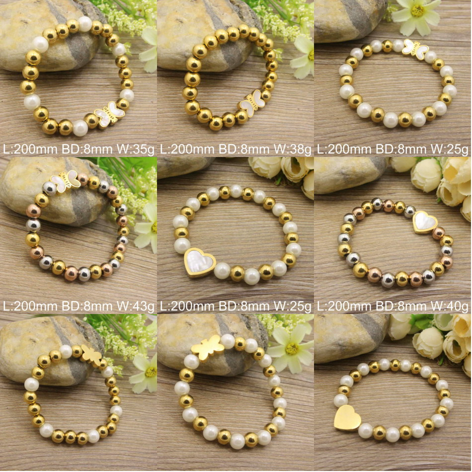 Popular Charm Bracelets 2: Hot Selling Wholesale Stainless Steel Fashion Popular New