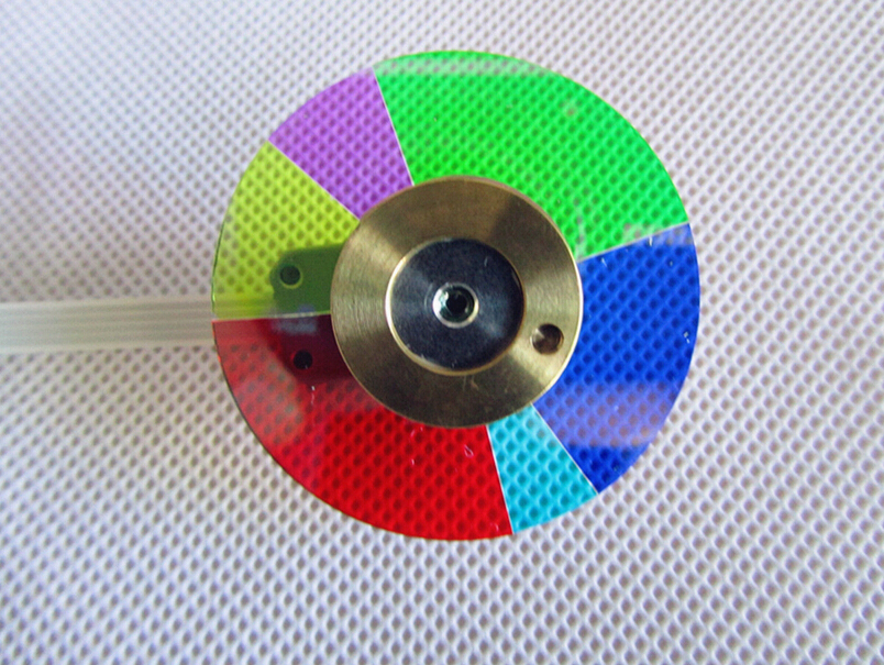 Free Shipping ! NEW original For Optoma HD65 Projector Color Wheel  with Three Months Warranty