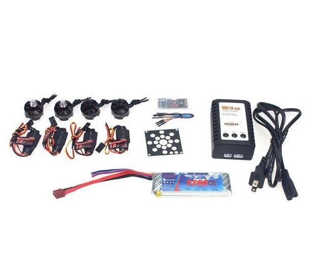 Conjunto Motor Sin Escobillas KV2300 F12065-C Componentes Electrónicos + 12A ESC