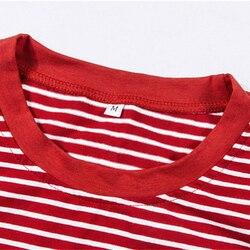 Bigsweety w stylu Vintage w paski T koszula nowa moda ubrania dla kobiet lato topy list lat 90-tych dziecko drukowane Tshirt Harajuku Streetwear 5