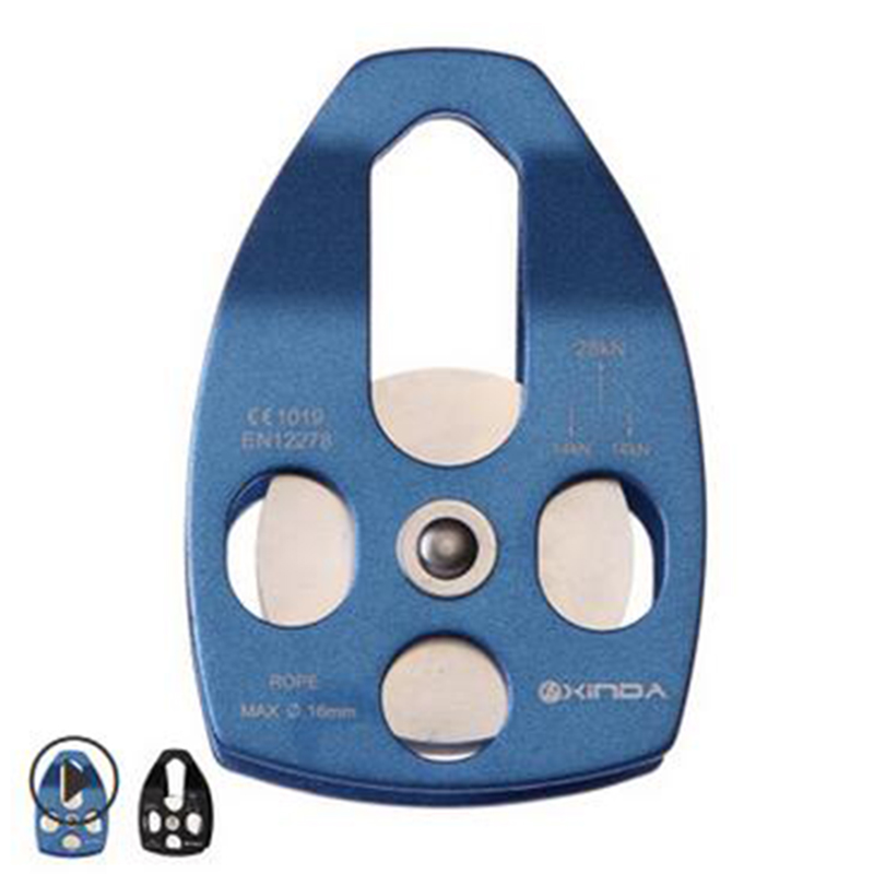 2pcs Blue 32kN Mobile Pulley Fix Rope 5/8 16mm For Rescue Lifting Climbing2pcs Blue 32kN Mobile Pulley Fix Rope 5/8 16mm For Rescue Lifting Climbing