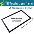 """Free shipping Dual Touch Screen Overlay Kit 42"""" IR Touch Screen Panel for Touch pos, Touch screen monitor"""