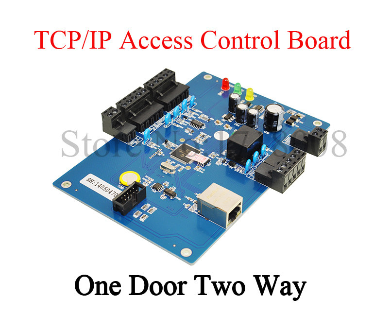 ФОТО One Door Two-way Access Control Panel Access Board RS485/ TCP / IP Network Access Controller