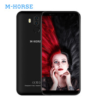 M Horse Pure 3 4G LTE Dual Sim Mobile Phone Android 7.1 5.7 Inch 18:9 MTK6737 Octa Core 4GB+64GB Smartphone 4000mAh Fingerprint