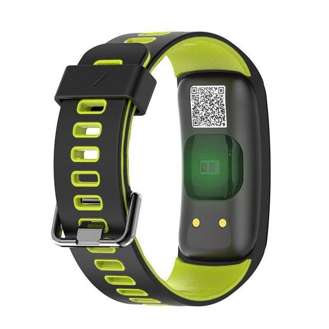 IP68 Waterproof F4 Bluetooth Smart Wristband Blood Oxygen Pressure HeartRate Monitor Pedometer Altimeter Fitness Tracker
