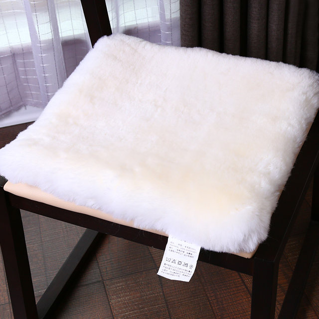Merveilleux WonderFur Sheepskin Fur Small Rug 50cm*50cm Amazing Sheepfur Cushion Throw  For Chair In Living Room,square Fur Chair Mat