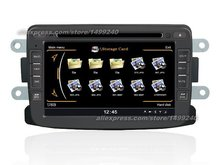 For Dacia Sandero 2009~2013 – Car GPS Navigation System + Radio TV DVD BT iPod 3G WIFI HD Screen Multimedia System