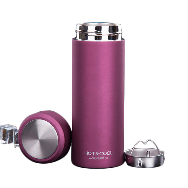 Men Women Business Stainless Steel Thermos Tumbler Cups Vacuum Flask thermo  Water Bottle Tea Mug Thermos Cup ea77b2e2d