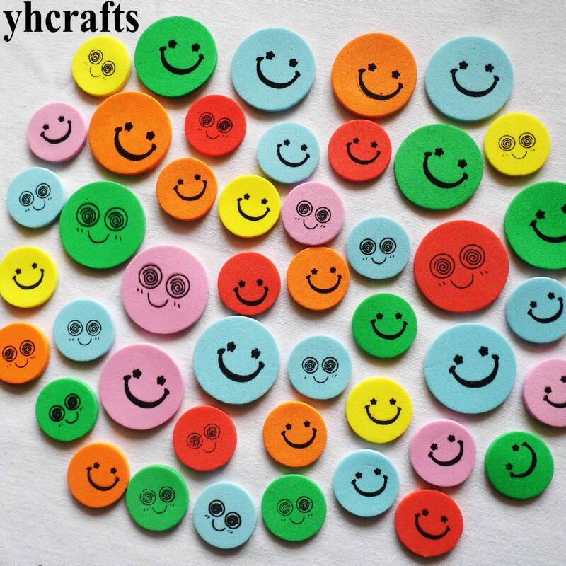 40 шт. (1 пакета(ов)) /LOTMix улыбка пены наклейки для украшения комнаты детский сад ремесло diy Классические игрушки fancy Creative игрушки OEM