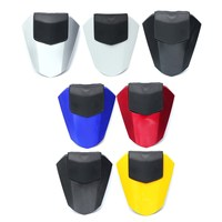 Motorcycle Rear Pillion Seat Cowl Fairing Cover For Yamaha YZF R6 2008 2015 2009 ABS Plastic Carbon/Blue/Red/White/Yellow/Silver
