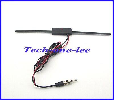 2M Cable 14db Car FM Antenna VHF UHF Auto TV Aerial 20db