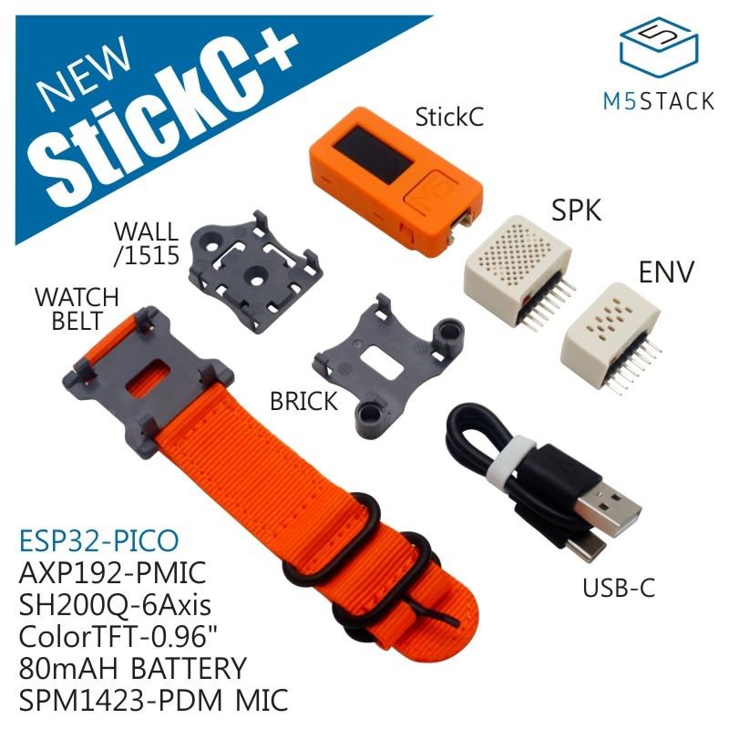 2019-m5stick-c-env-hat-spk-hat-esp32-pico-mini-iot-development-board-finger-computer-with-tft-lcd