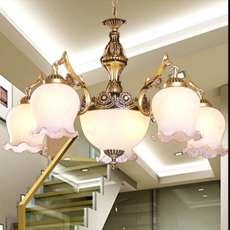 Jane European restaurant lighting chandeliers Mediterranean modern chandelier bedroom lamp living room chandelier led restaurant white chandelier glass crystal lamp chandeliers 6 pcs modern hanging lighting foyer living room bedroom art lighting