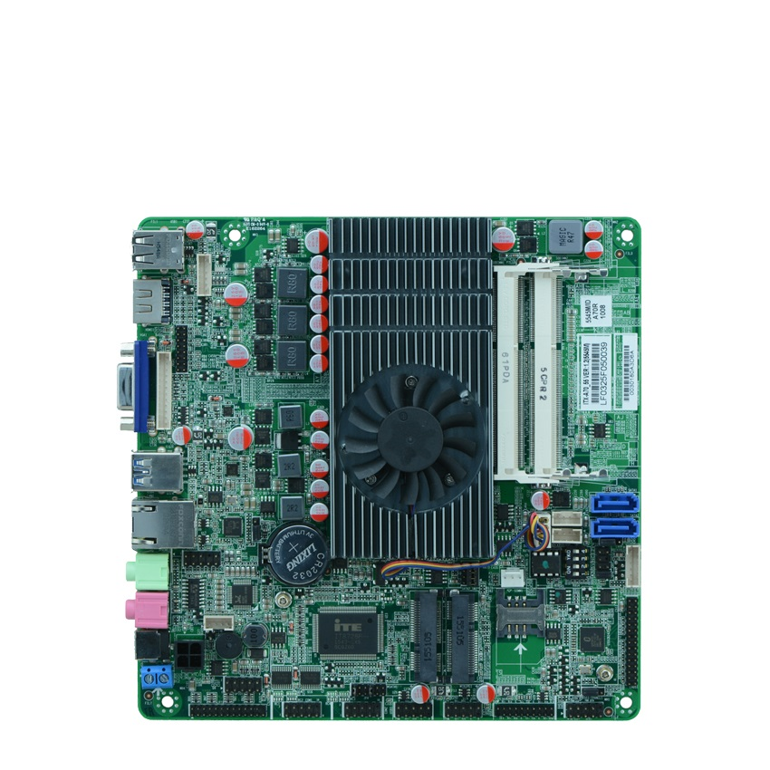 A&R-Series APU A4/A6/A8 A70 chipset Slim Mini-ITX Motherboard A70MHD with Video HD7440 HD7600 HD8450 image