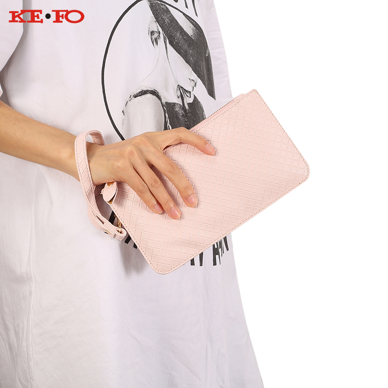 Phone Pouch Bag Universal Case For Samsung Galaxy J1 J2 J3 J5 J7 2016 2017 Plaid PU Leather Pouch Shoulder Handbag Crossbody bag
