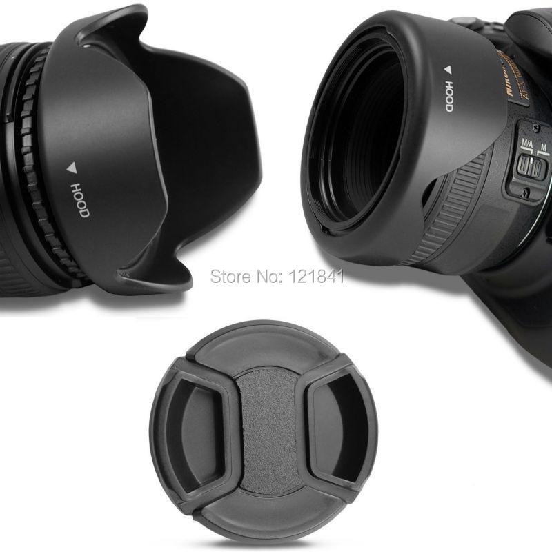 მაღალი ხარისხის 58MM შექცევადი Petal Flower Lens Hood Canon- ის კამერისთვის Rebel T5i T4i T3i T3 T2i XSi უფასო გადაზიდვა