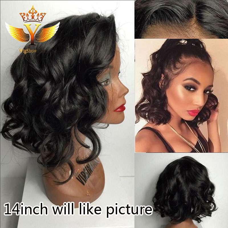 sexy body wave lace front wig cheap brazilian