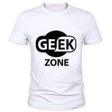 New Geek Men T Shirt Physics Math Creative Short Sleeve Tee shirts Fashion Tops The Big Bang Theory Funny boy Geek T-shirt 59-2#