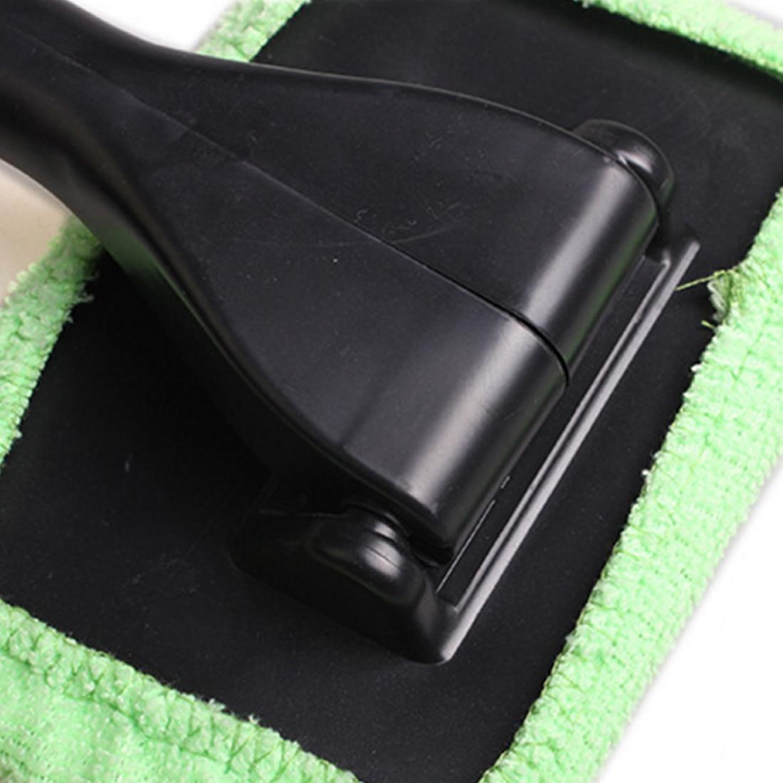 BU-Bauty Window Windshield Wiper Cloth Clean Tool Washable Shine Handy Microfiber Auto Window Cleaner Long Handle Car Wash Brush