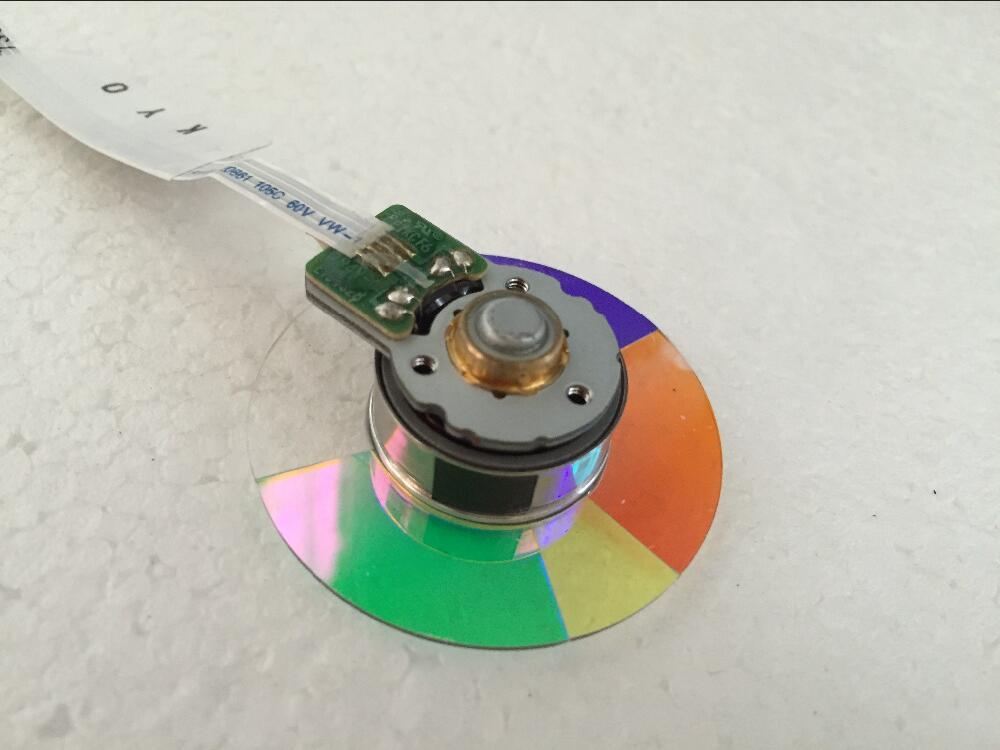 (NEW) Original DLP Projector Colour Color Wheel Model For Optoma HD141X color wheel new original dlp projector colour color wheel model for viewsonic pjd6531w color wheel