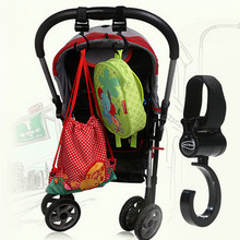 2pcs/set Baby Pram Stroller Pushchair Swivel Hanger Hooks Rotatable Hook Hanging Carrier Holder Baby Stroller Accessories