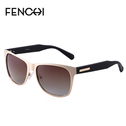 Stylish vintage men's polarized sunglasses driving sunglasses