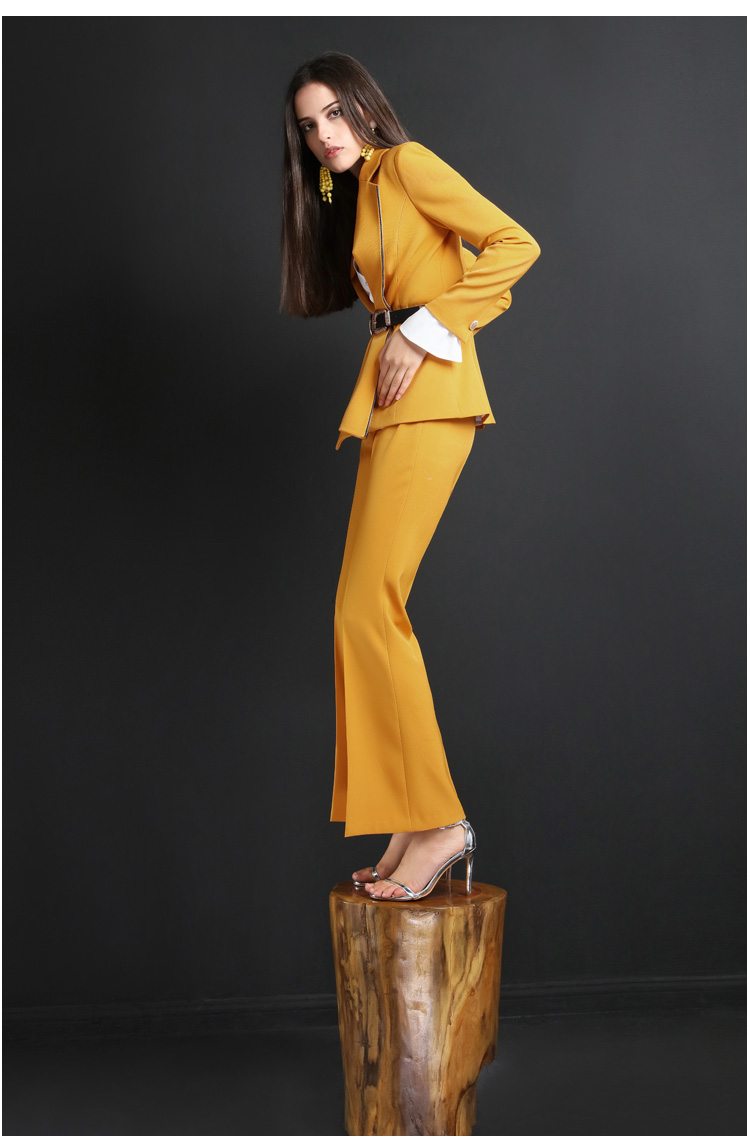 High quality women suits pants suit outdoor office slim fashion Blazer Pant Office Lady acket Female Outfits in Pant Suits from Women 39 s Clothing