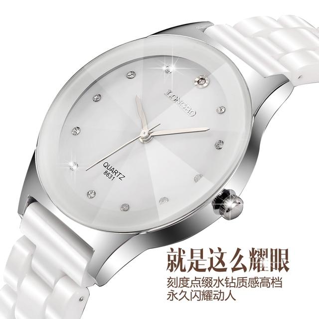 4526df88951 Woman Dress LONGBO Relogio Feminino Masculino Mens Watches Top Brand Luxury  Clock Classic Business Casual Ceramics