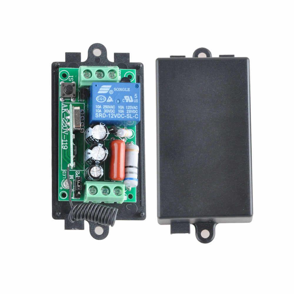 Подробнее Обратная связь Вопросы о <b>AC220V 1CH 10A</b> 433 мГц ...