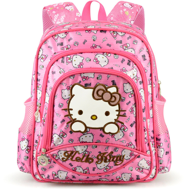 O Kitty Children S Bag Kids Backpack Cartoon Schoolbag School Bags For Age Oxford Waterproof