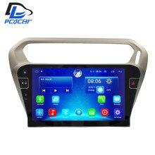 32 г Встроенная память Android автомобильный GPS Мультимедиа Видео Радио в тире для Peugeot 301 Citroen Elysee 2014-2017 лет автомобиля navigaton