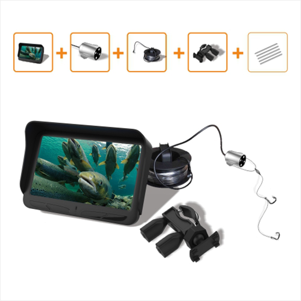 IHOME 4,3 дюйма HD LCD подводная Рыбацкая видеокамера 30 м Видимый портативный рыболокатор ночного видения водонепроницаемый рыболовный инструмент|Рыболокаторы|   | АлиЭкспресс