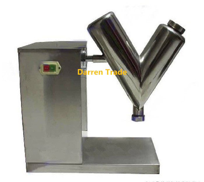 1PCS Type High efficient powder mixing machine powder mixer machine Mini mixer material mix machine powder mix blender VH5  цены