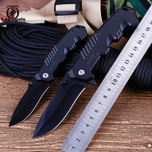 Portable Tactical high hardness knife Wild survival multi-function folding self-defense outdoor mini
