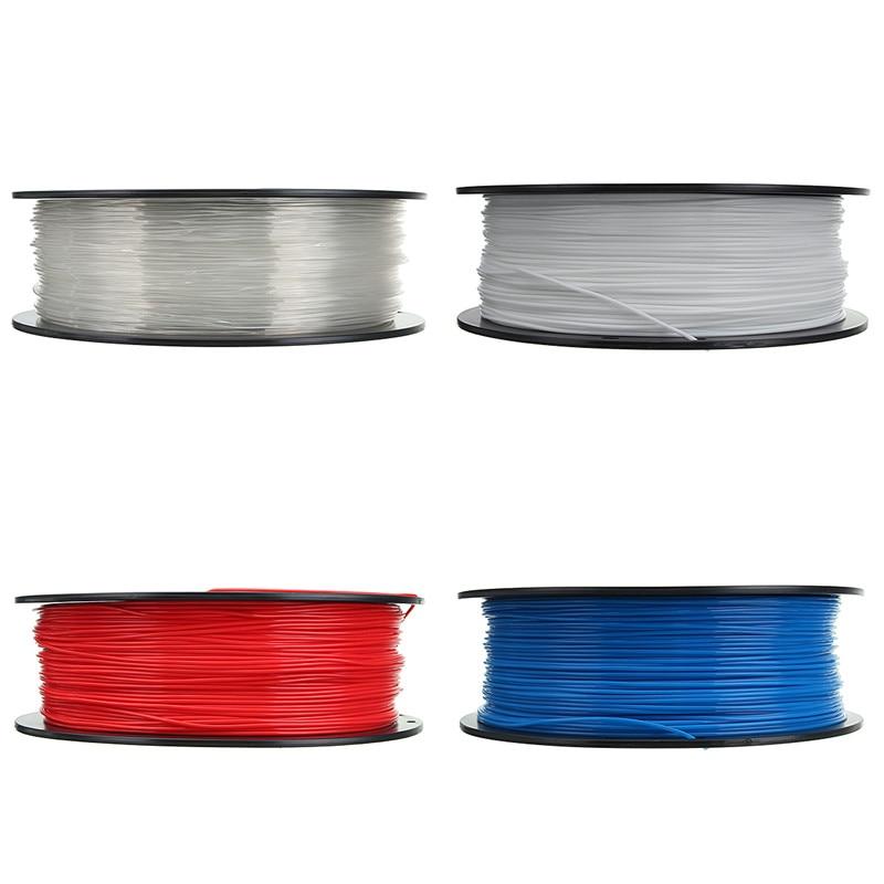 New 1pc PLA 1kg 3D Printer Filament 1.75mm RepRap Sales Pen MakerBot For 3D Printer Pen Threads 4 Color For Choice Durable tronxy 1 75mm pla filament for 3d printer
