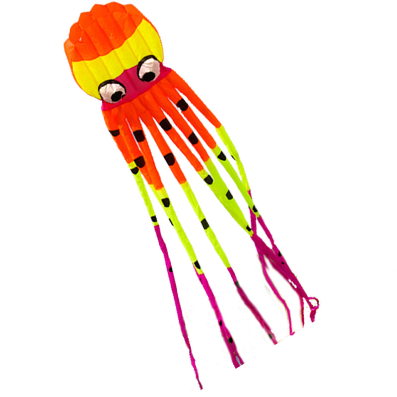 Outdoor Sports Fun New High Quality 8m Software Power Octopus Kite Good Flying Factory Outlet