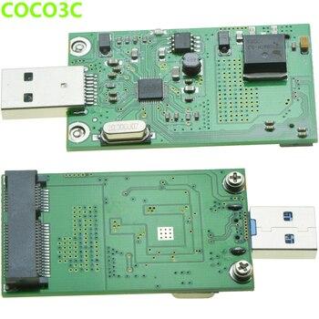 USB3.0 to mSATA SSD adapter mini PCIe mSATA 6Gb/s Drives card to USB Converter Card as USB3.0 flash drive