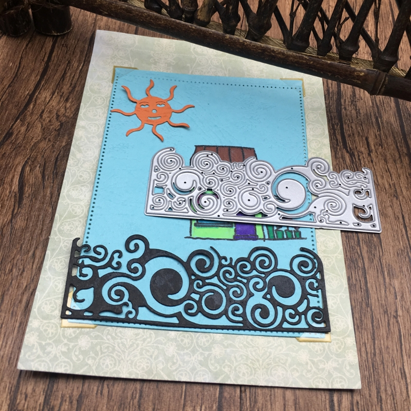 Decorative Pattern Embossing Metal Steel Cutting Dies Stencils for DIY Scrapbooking/photo album Decor Embossing DIY Paper Card